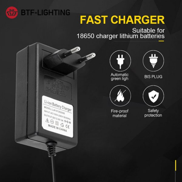 12.6V 8.4V 16.8V 1A 2A 4.2V 1A 18650 Lithium Battery Charger Adapters 5.5mm*2.1mm 2.5mm 110-240V 3S Li-ion Polymer Wall Charger