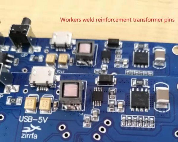Zirrfa – circuit imprimé électronique Nixie in12, avec acrylique, sans tubes