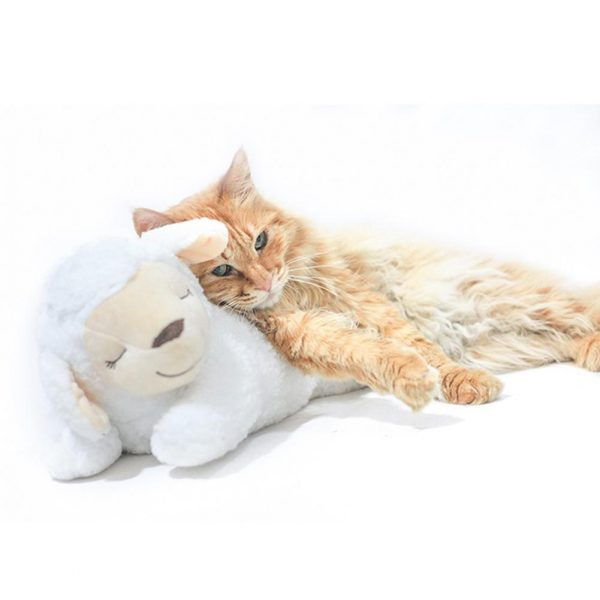Dog Toy Plush Toy Comfortable Behavioral Training Aid Toy Heart Beat Soothing Plush Doll Sleep For Smart Dogs Cats Play